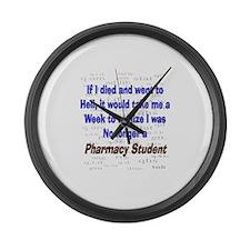 Pharmacist Humor Large Wall Clock