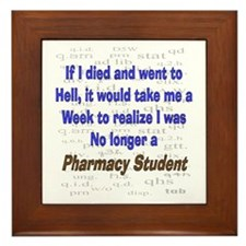 Pharmacist Humor Framed Tile