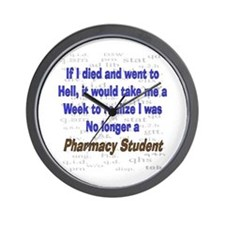 Pharmacist Humor Wall Clock