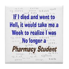 Pharmacist Humor Tile Coaster