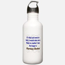 Pharmacist Humor Water Bottle