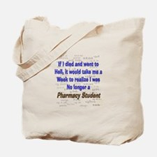 Pharmacist Humor Tote Bag