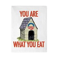 Obama Doghouse Twin Duvet