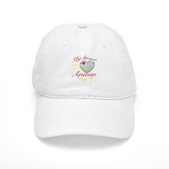 My heart belongs to an Aruban boy Baseball Cap