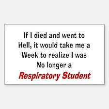 Respiratory Therapy XXX Bumper Stickers