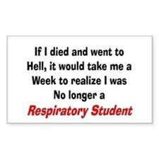 Respiratory Therapy XXX Decal