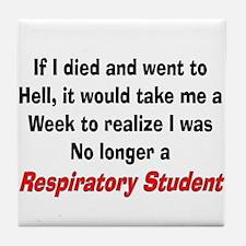 Respiratory Therapy XXX Tile Coaster