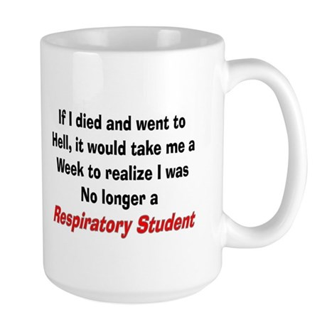 Respiratory Therapy XXX Large Mug