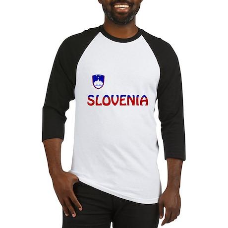 Slovenia Baseball Jersey