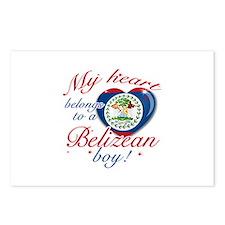 My heart belongs to a Belizean boy Postcards (Pack