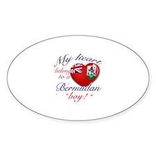 My heart belongs to a Bermudan boy Decal