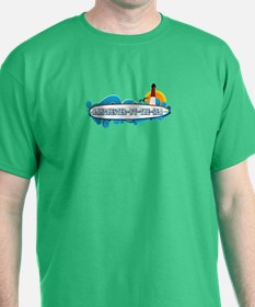 Manchester-By-The-Sea - Surf Design. T-Shirt