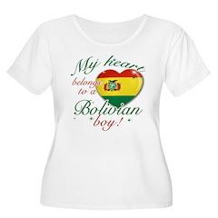 My heart belongs to a Bolivian boy T-Shirt