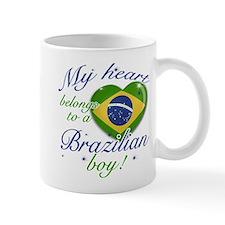 My heart belongs to a Brazilian boy Mug