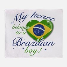 My heart belongs to a Brazilian boy Stadium Blank