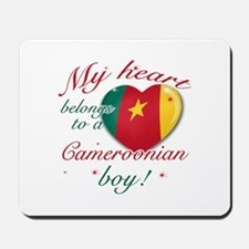 My heart belongs to a Cameroonian boy Mousepad