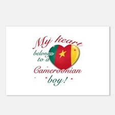 My heart belongs to a Cameroonian boy Postcards (P