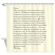 Mr. Darcy Loves You - Shower Curtain