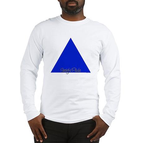 Straight Pride Squiggle Logo Long Sleeve T-Shirt