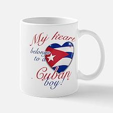 My heart belongs to a Cuban boy Mug