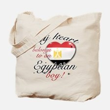 My heart belongs to an Egyptian boy Tote Bag