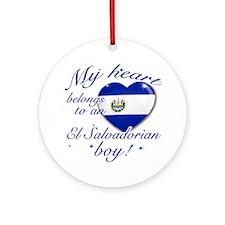 My heart belongs to an El Salvadorian boy Ornament