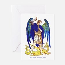 Archangel Michael - Greeting Cards (Pk of 10)