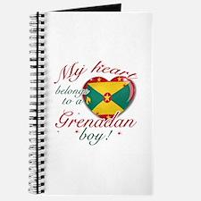 My heart belongs to a Grenadan boy Journal