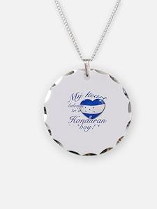 My heart belongs to a Honduran boy Necklace