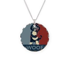 Bo The First Dog WOOF Necklace