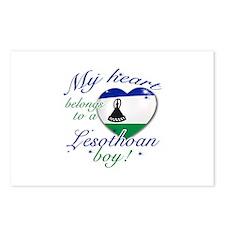 My heart belongs to a Lesothan boy Postcards (Pack