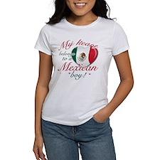 My heart belongs to a Mexican boy Women's T-Shirt