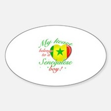 My heart belongs to a Senegalese boy Decal