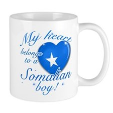 My heart belongs to a Somalian boy Small Mug