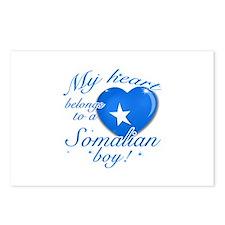 My heart belongs to a Somalian boy Postcards (Pack