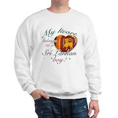 My heart belongs to a Sri Lankan boy Sweatshirt