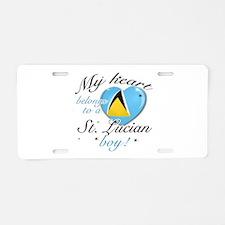 My heart belongs to a St. Lucian boy Aluminum Lice