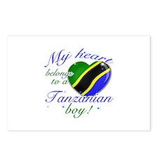 My heart belongs to a Tanzanian boy Postcards (Pac