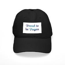 """Proud To Be Pagan"" Baseball Hat"