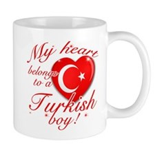 My heart belongs to a Turkish boy Mug