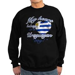 My heart belongs to an Uruguayan boy Sweatshirt