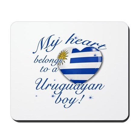 My heart belongs to an Uruguayan boy Mousepad