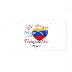 My heart belongs to a Venezuelan boy Aluminum Lice