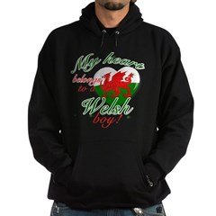 My heart belongs to a Welsh boy Hoodie