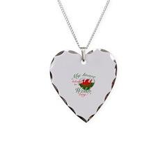 My heart belongs to a Welsh boy Necklace
