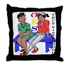 OES 4th Edition Throw Pillow