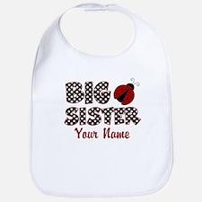 Big Sister Ladybug Bib