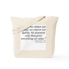 ObtainEsteem Tote Bag