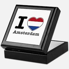 I love Amsterdam Keepsake Box