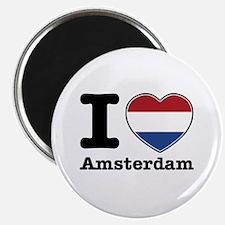 I love Amsterdam Magnet